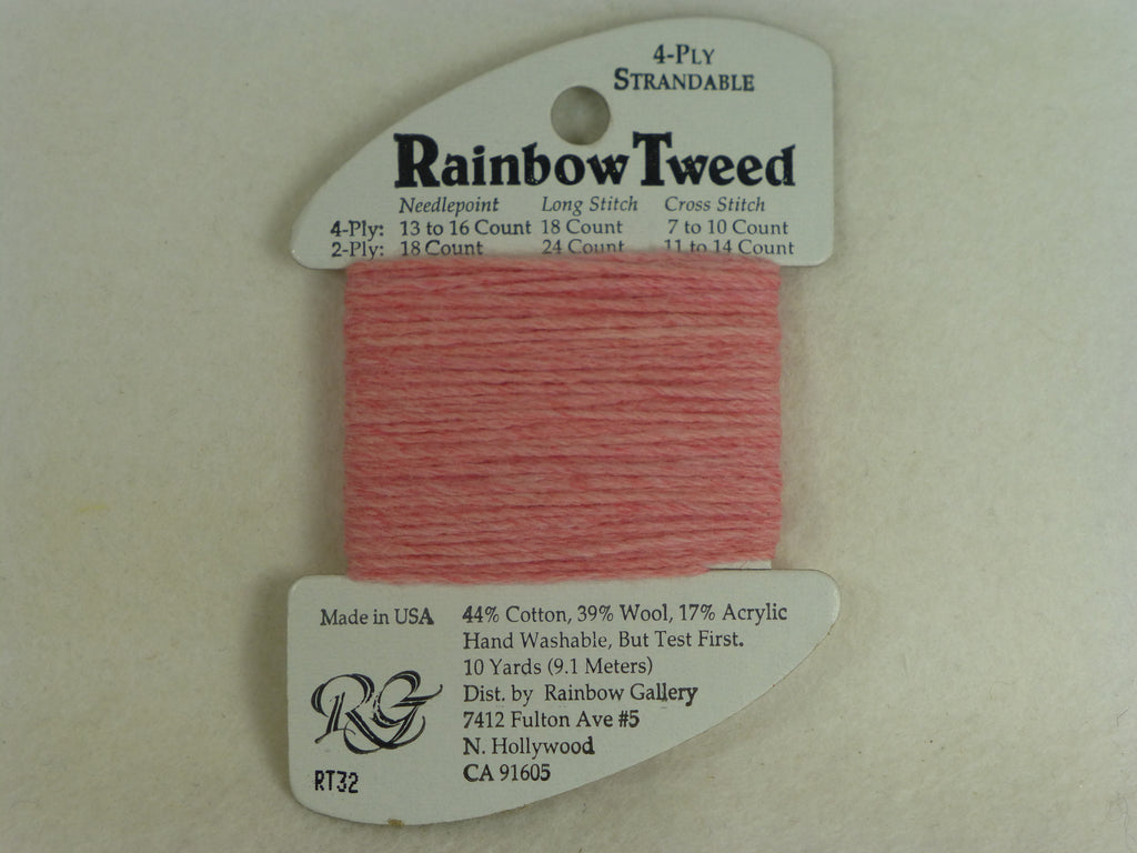Rainbow Tweed RT32 Rose