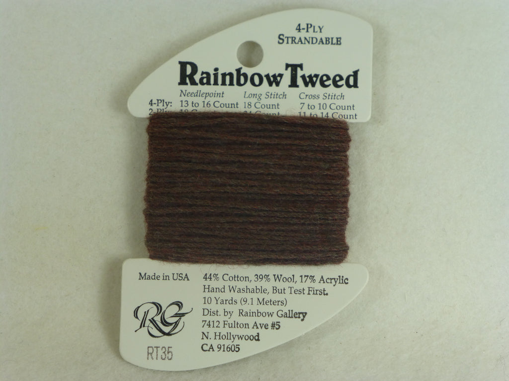 Rainbow Tweed RT35 Dark Brown