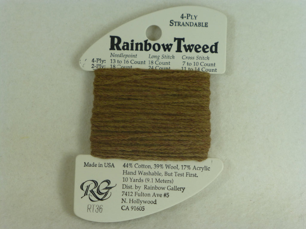 Rainbow Tweed RT36 Dark Tan