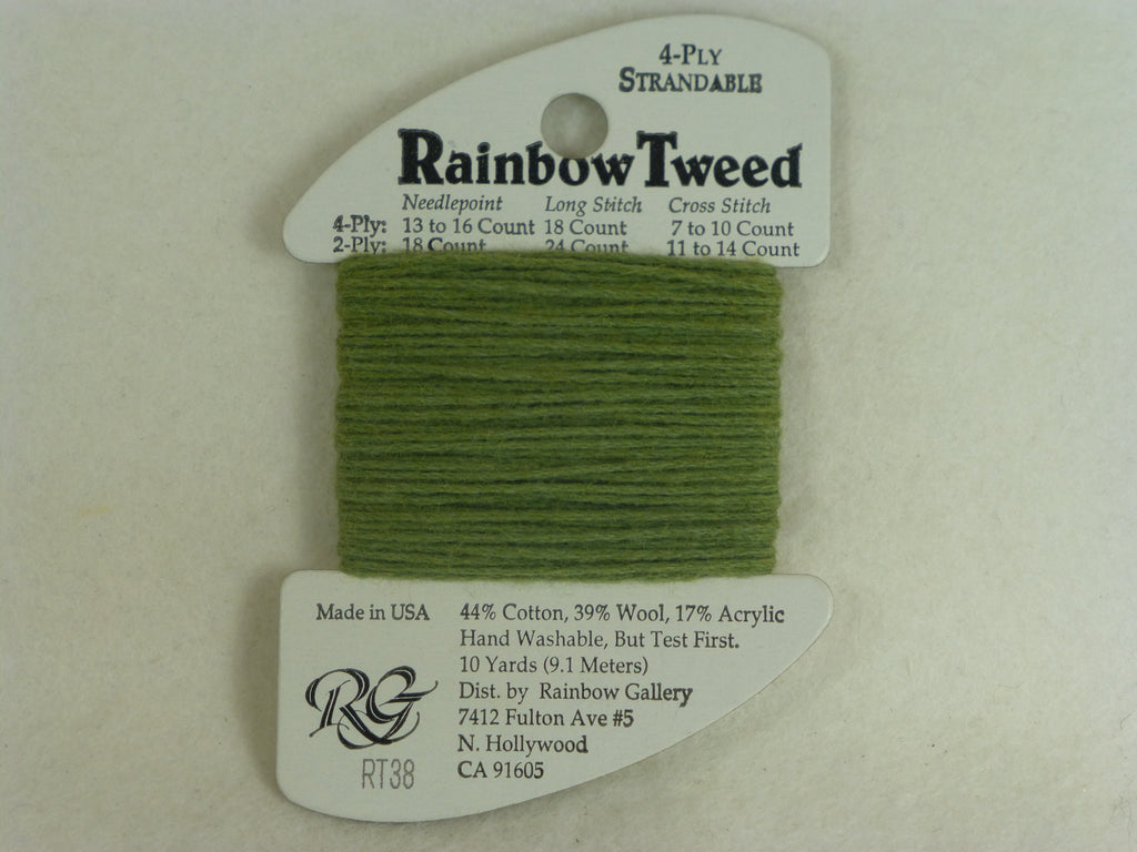 Rainbow Tweed RT38 Olive
