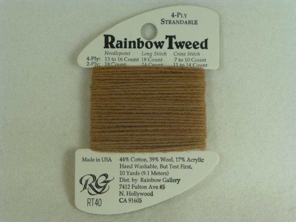 Rainbow Tweed RT40 Nutmeg