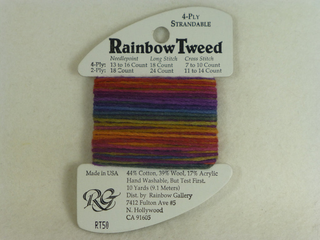 Rainbow Tweed RT50 Caravan
