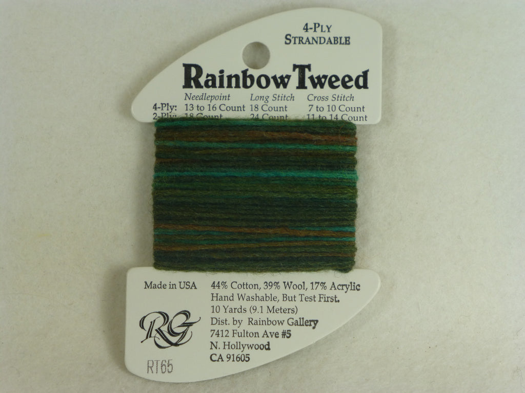 Rainbow Tweed RT65 Deep Green
