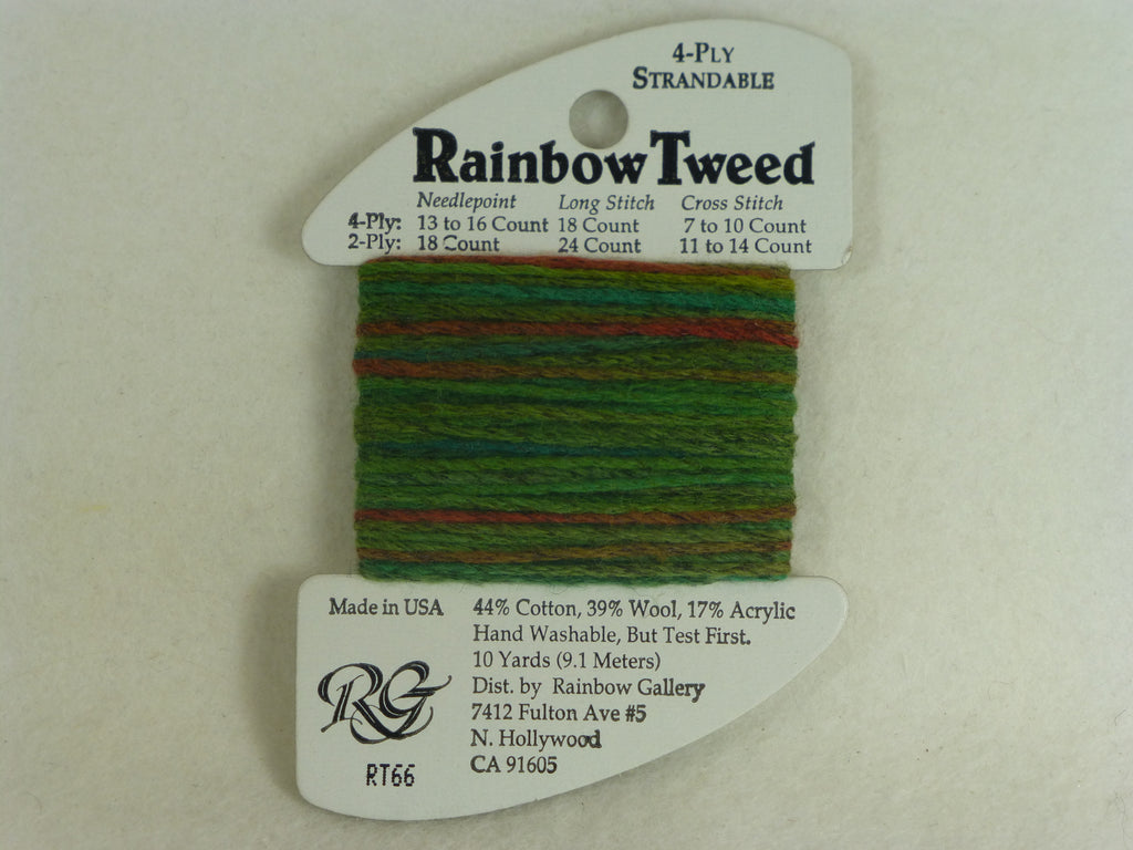 Rainbow Tweed RT66 Leaf Green