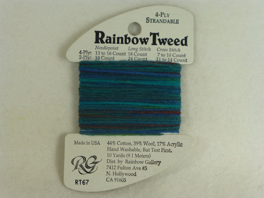 Rainbow Tweed RT67 Lagoon