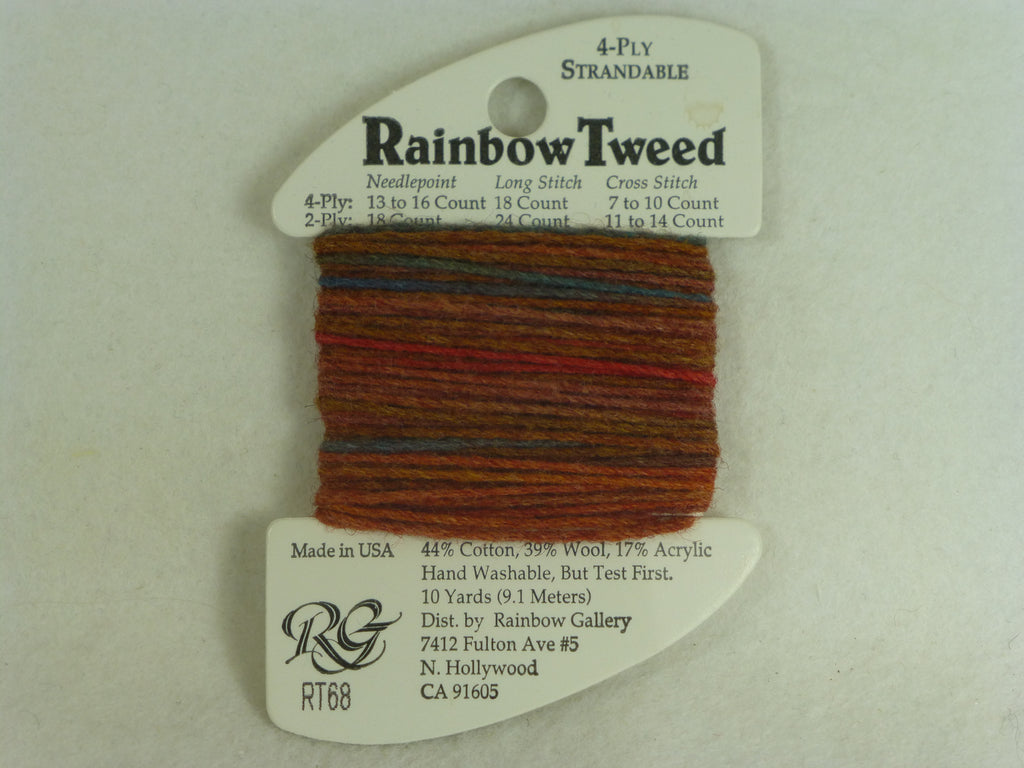 Rainbow Tweed RT68 Rust Tones
