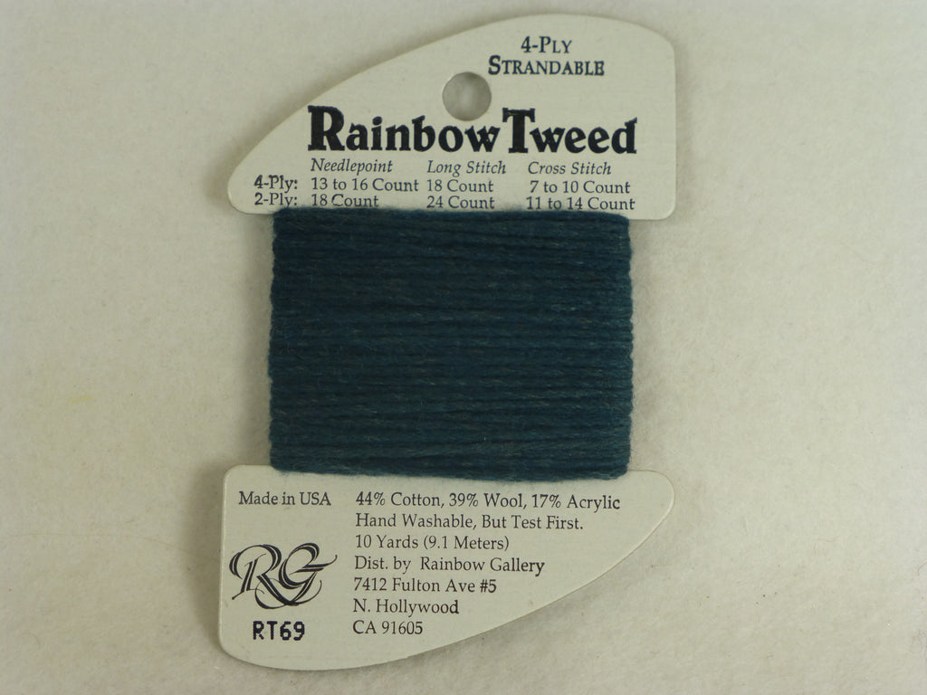 Rainbow Tweed RT69 Slate Blue