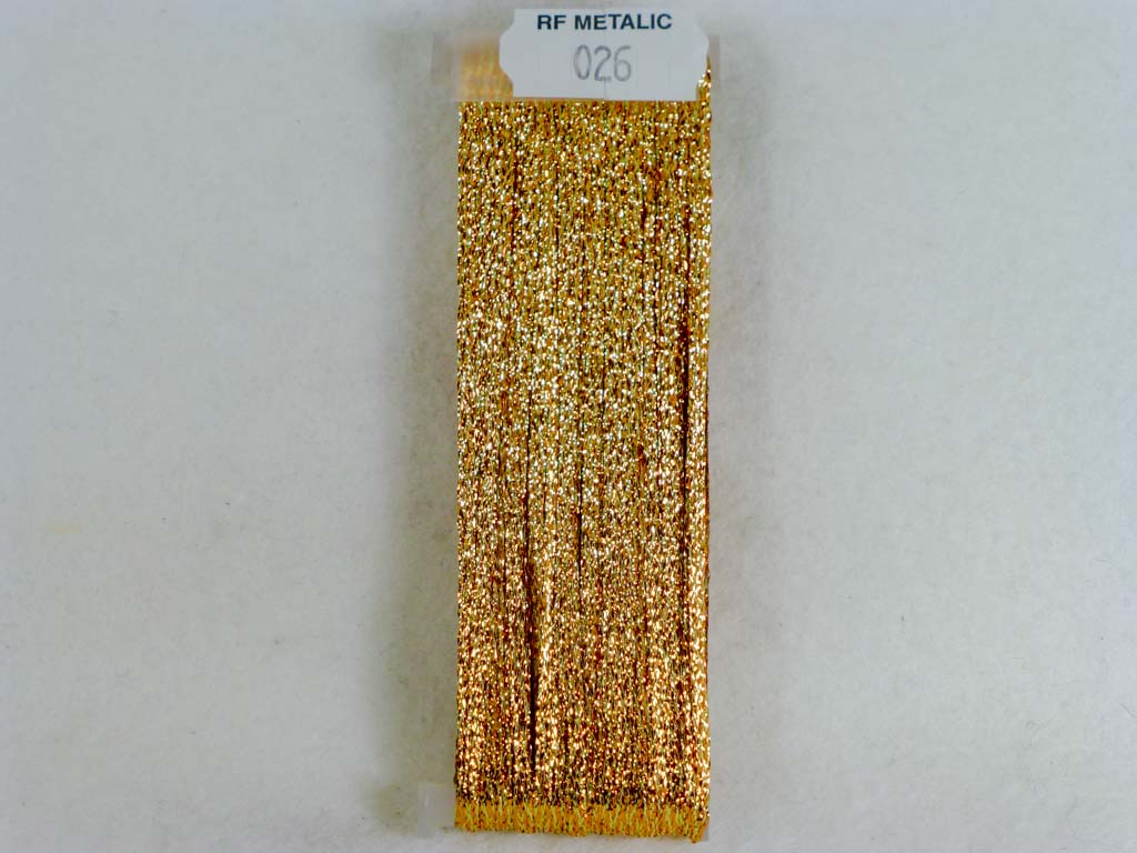 Metallic 026 Spanish Gold by YLI From Beehive Needle Arts