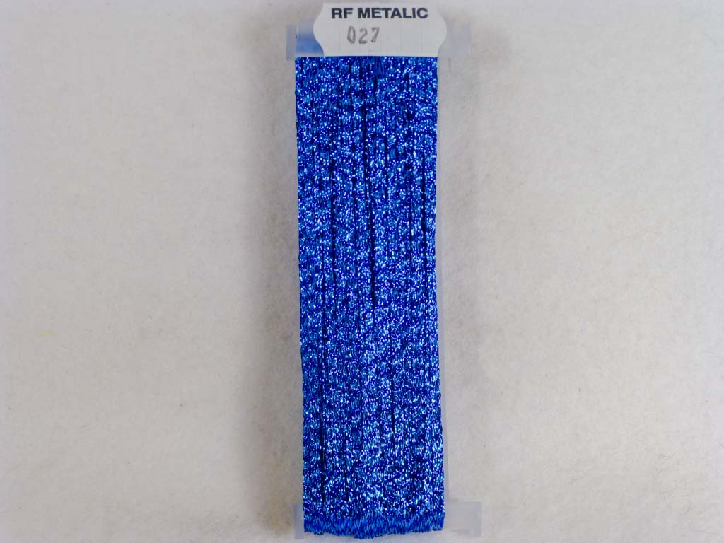 Metallic 027 Electirc Blue by YLI From Beehive Needle Arts