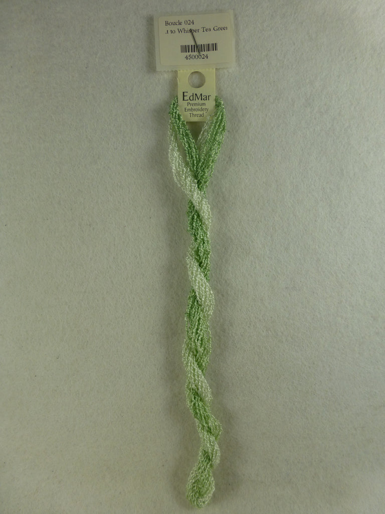 Boucle 024 Lt to Whisper Tea Green