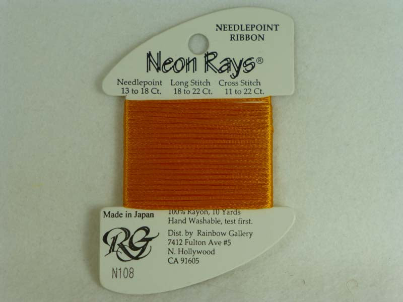 Neon Rays N108 Yellow Orange