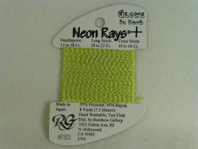 Neon Rays+ NP303 Chartreuse Glow in the Dark