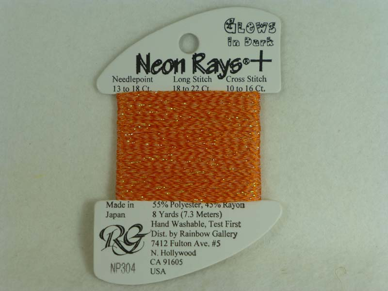 Neon Rays+ NP304 Orange Glow in the Dark