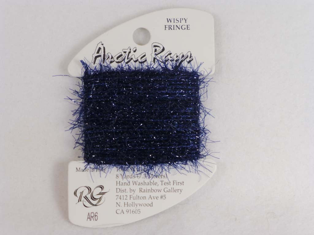 Arctic Rays AR6 Royal Purple by Rainbow Gallery From Beehive Needle Arts