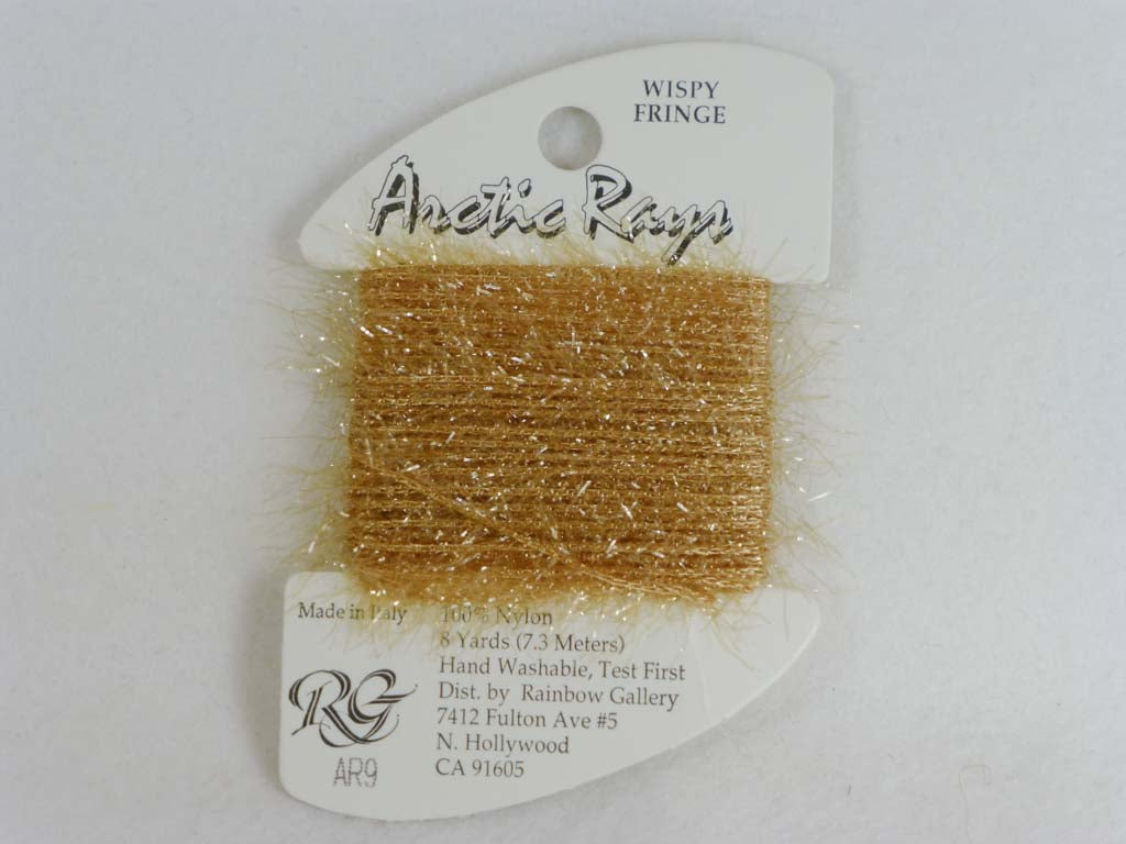 Arctic Rays AR9 Golden Straw by Rainbow Gallery From Beehive Needle Arts