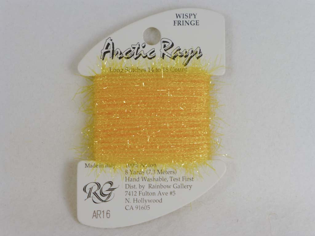 Arctic Rays AR16 Brite Gold by Rainbow Gallery From Beehive Needle Arts