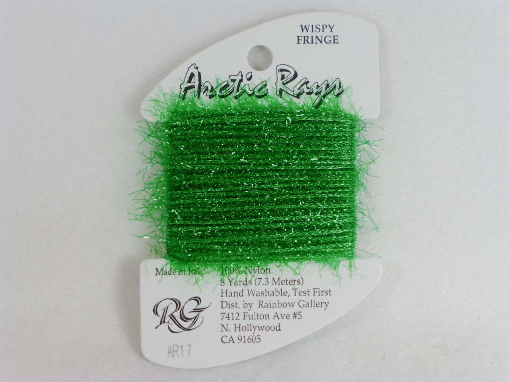 Arctic Rays AR17 Christmas Green by Rainbow Gallery From Beehive Needle Arts