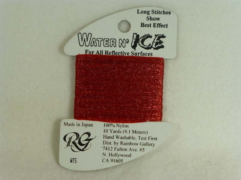 Water n' Ice WT05 Flame Red