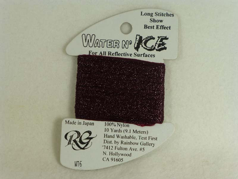 Water n' Ice WT06 Flame Dark Red