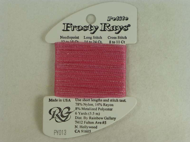 Petite Frosty Rays PY013 Baby Pink Gloss