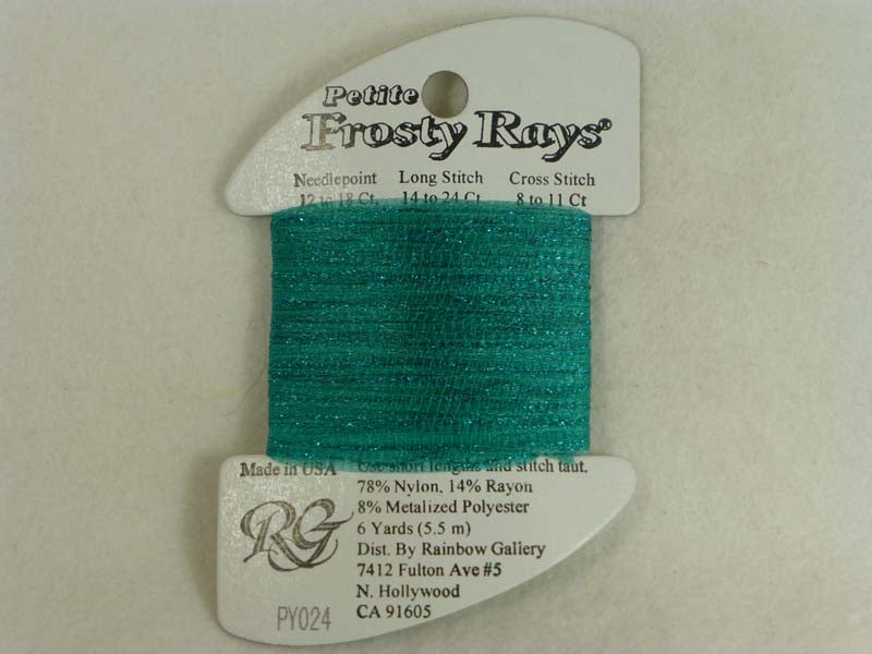 Petite Frosty Rays PY024 Turquoise Gloss