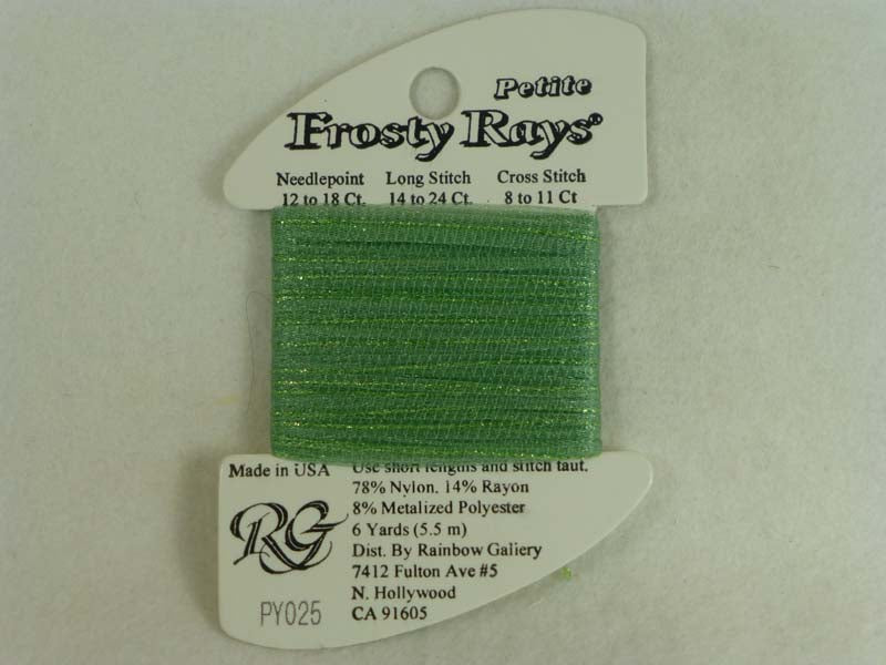 Petite Frosty Rays PY025 Lite Sea Green Gloss