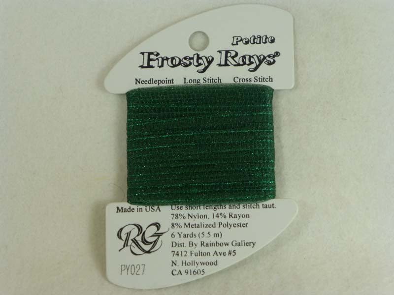 Petite Frosty Rays PY027 Sea Green Gloss