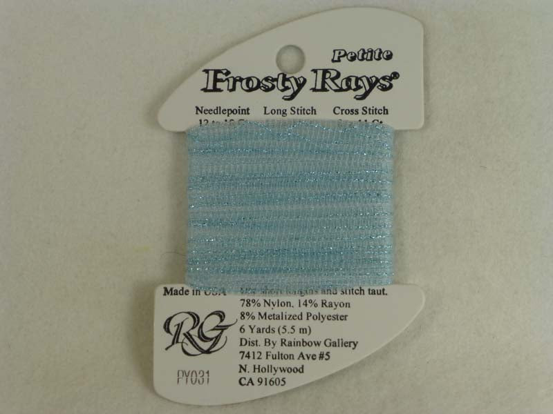 Petite Frosty Rays PY031 Lite Blue Blush Gloss