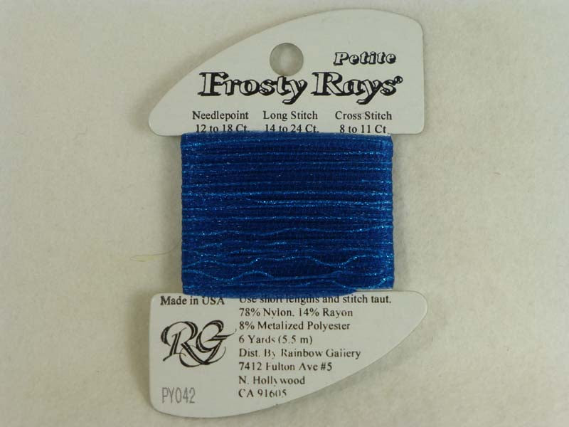 Petite Frosty Rays PY042 Dark Blue Gloss