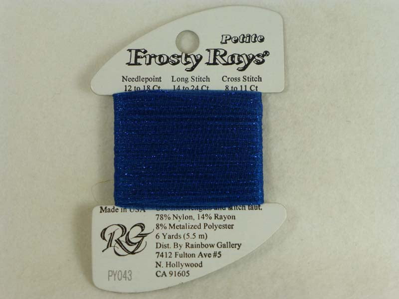 Petite Frosty Rays PY043 Very Dark Blue Gloss