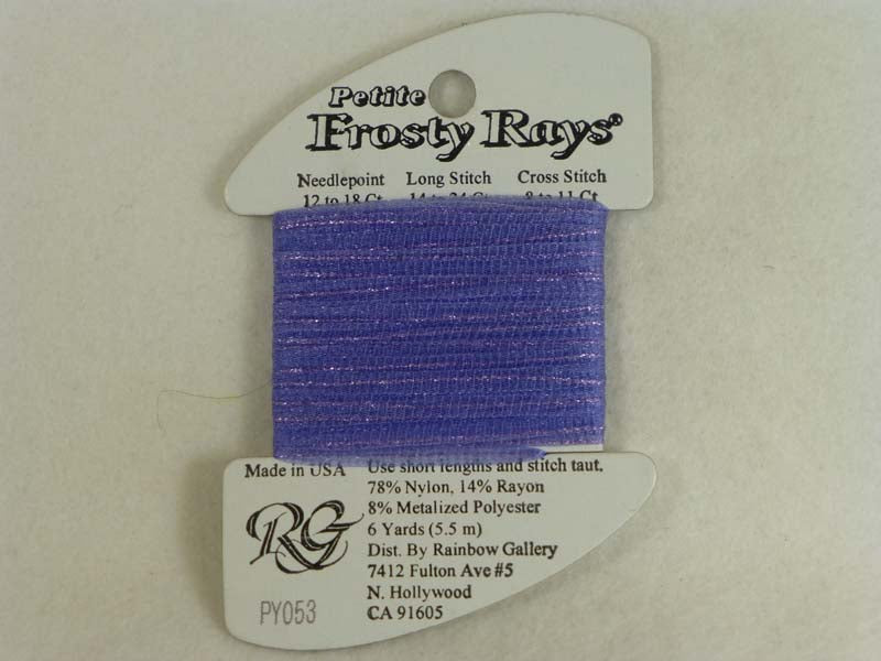 Petite Frosty Rays PY053 Medium Periwinkle Gloss