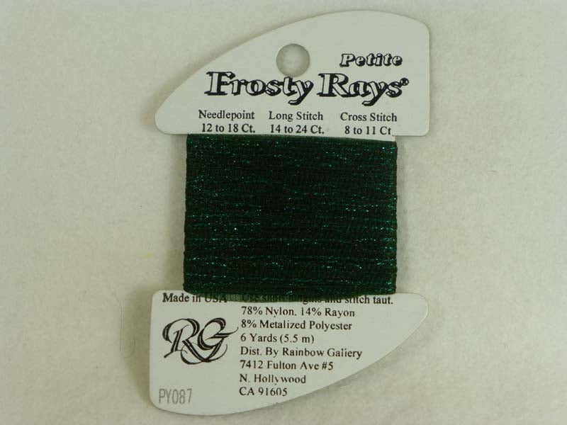 Petite Frosty Rays PY087 Very Dark Olive Green Gloss