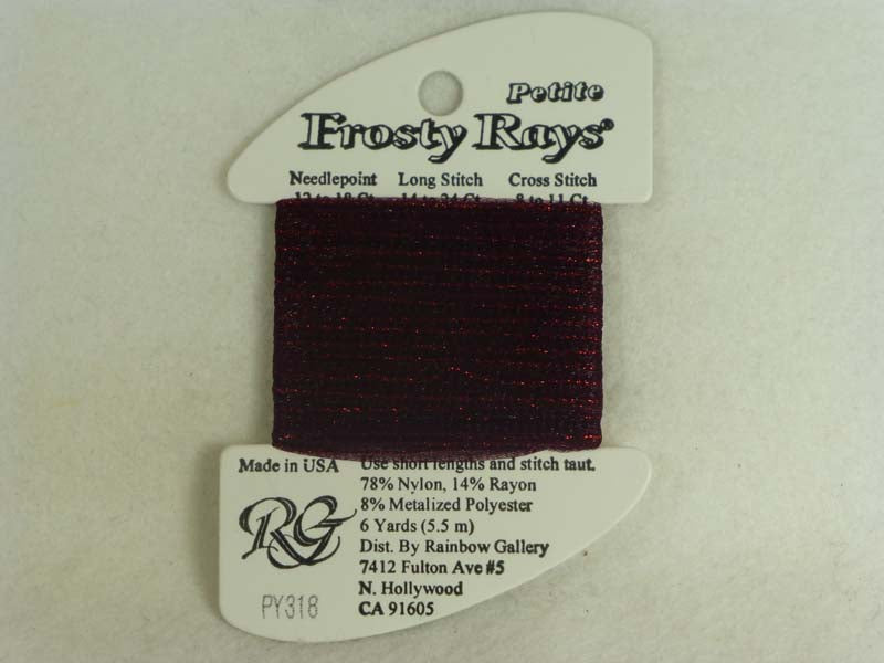 Petite Frosty Rays PY318 Midnight Red Gloss