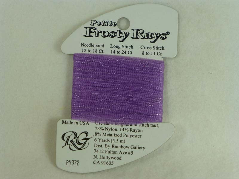 Petite Frosty Rays PY372 Lite Red Violet Gloss