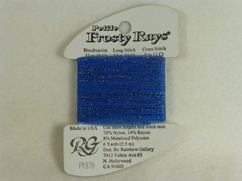Petite Frosty Rays PY379 Delft Gloss