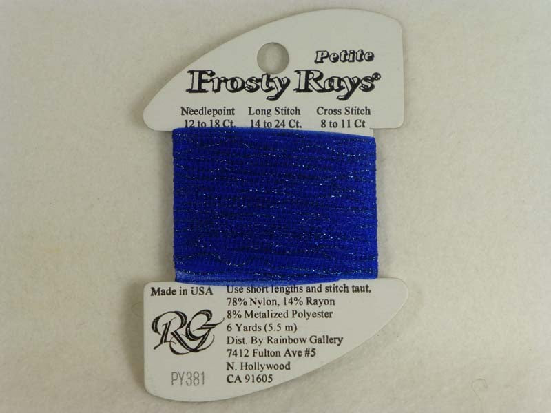 Petite Frosty Rays PY381 Night Sky Blue Gloss
