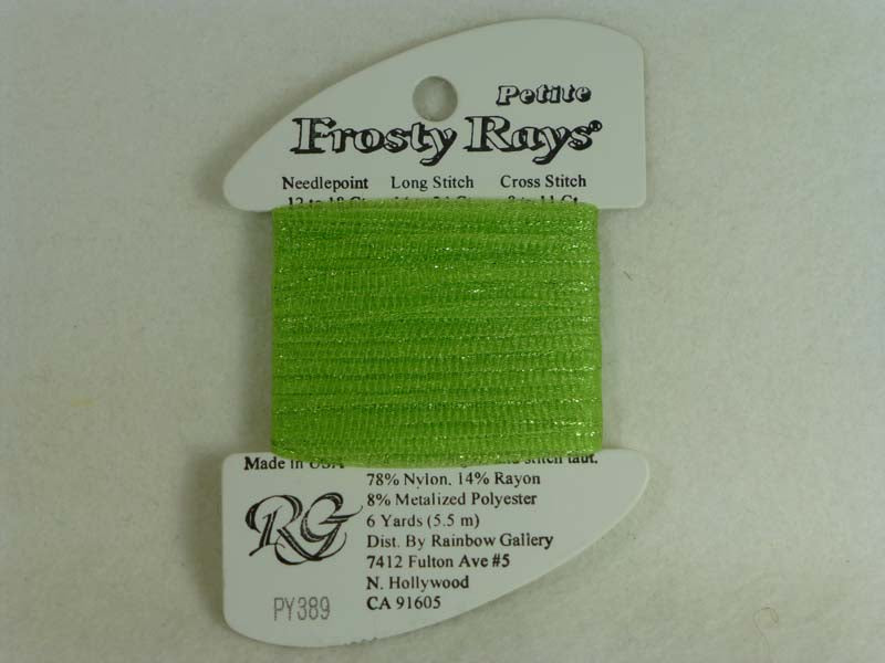 Petite Frosty Rays PY389 Lime Green Gloss