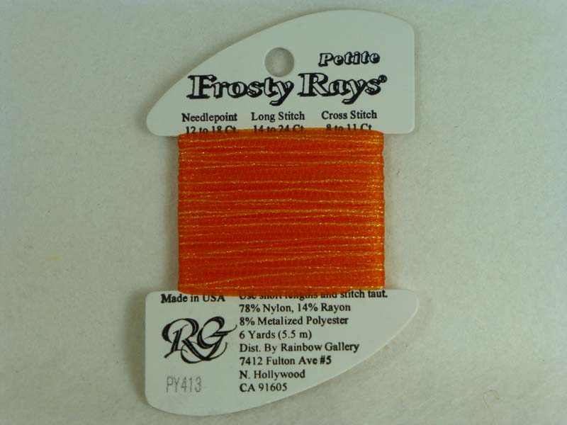 Petite Frosty Rays PY413 Orange Pop