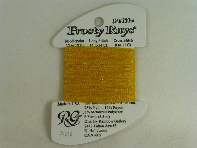 Petite Frosty Rays PY414 Awesome Gold