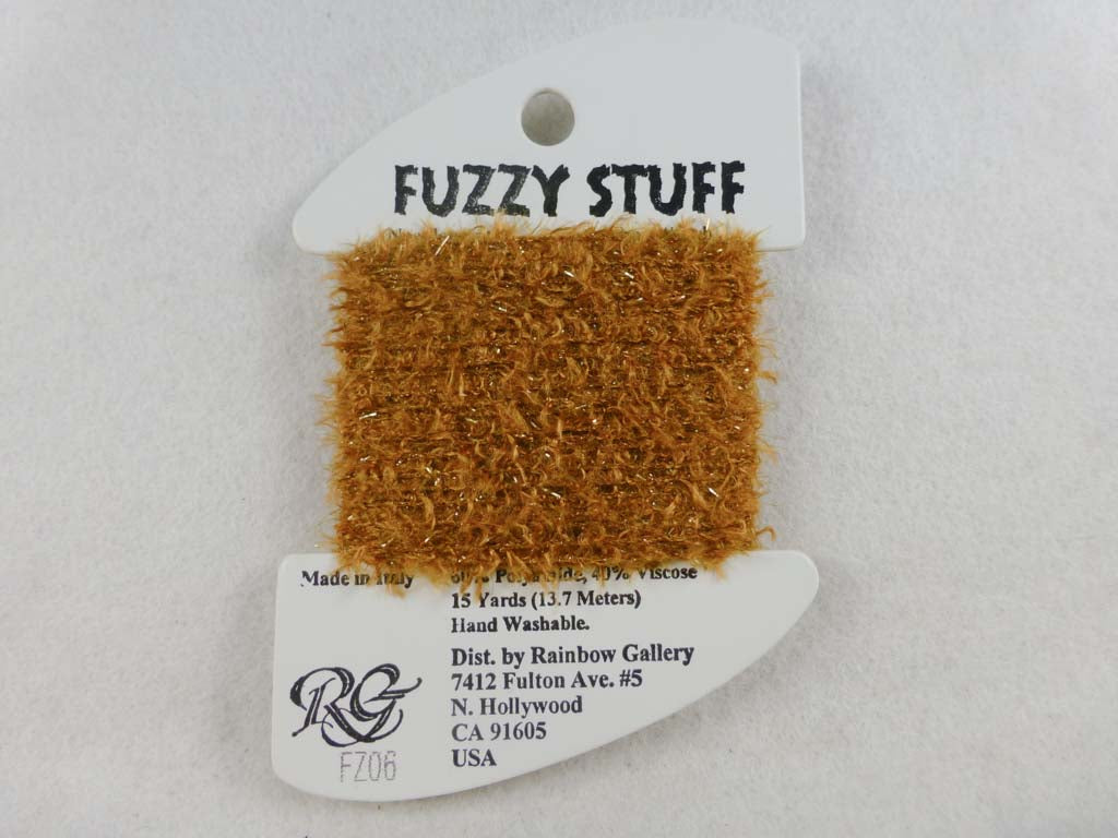 Fuzzy Stuff FZ06 Dusty Blond by Rainbow Gallery From Beehive Needle Arts