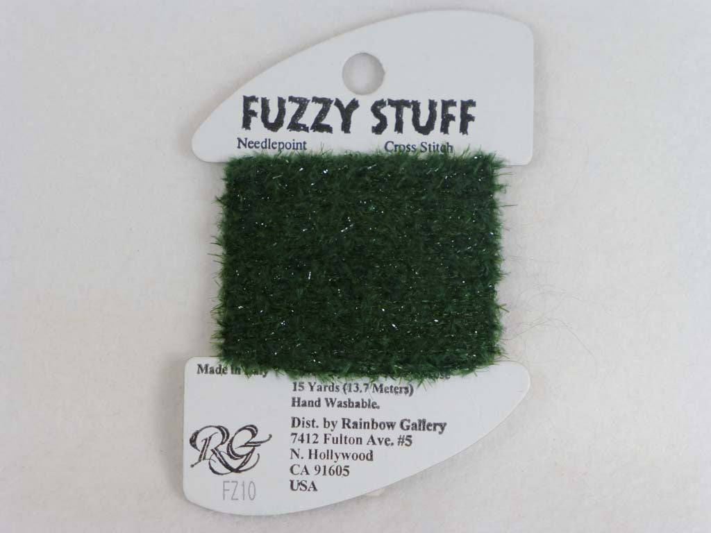Fuzzy Stuff FZ10 Tree Green by Rainbow Gallery From Beehive Needle Arts