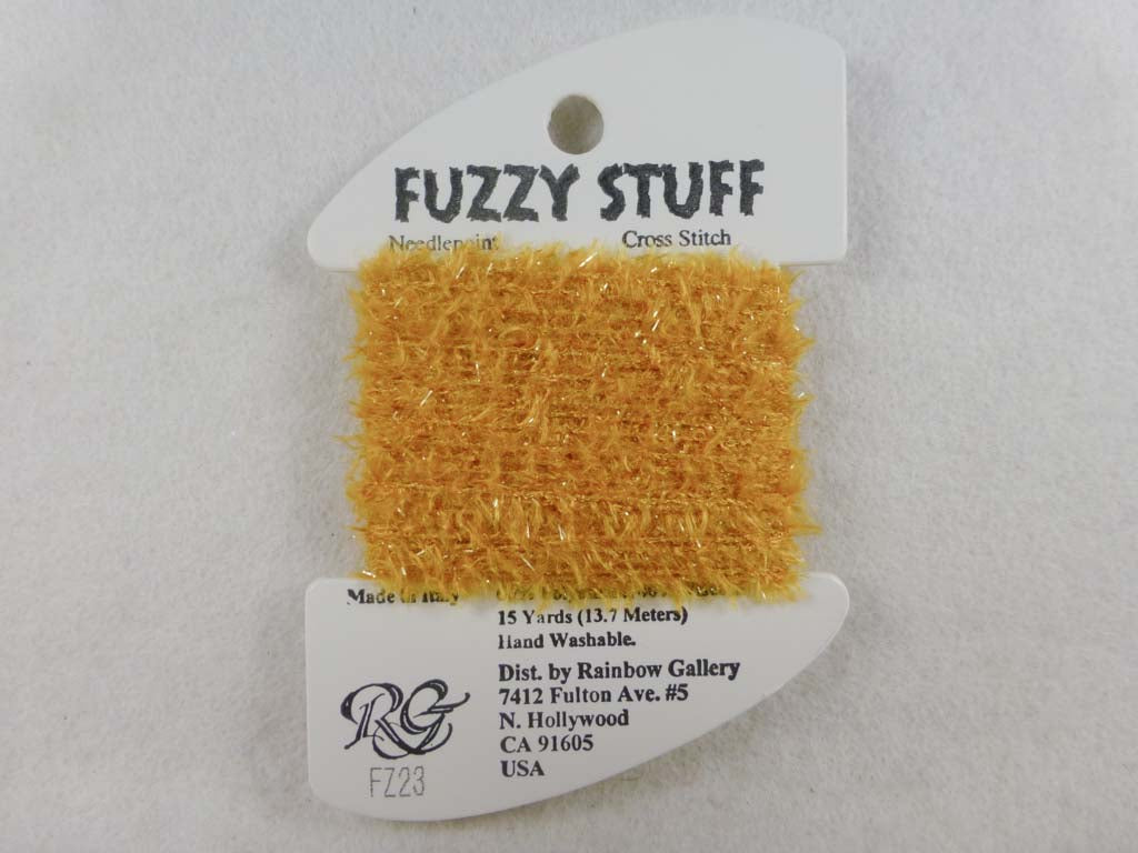 Fuzzy Stuff FZ23 Gold by Rainbow Gallery From Beehive Needle Arts