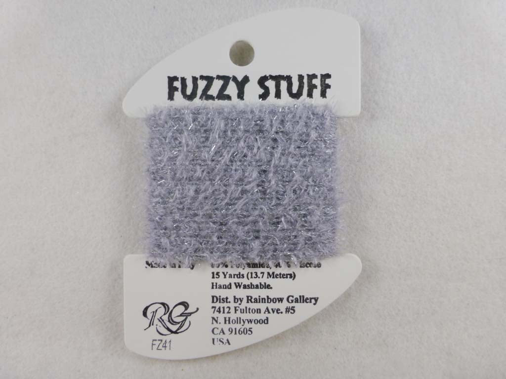 Fuzzy Stuff FZ41 Dark Pearl Gay by Rainbow Gallery From Beehive Needle Arts