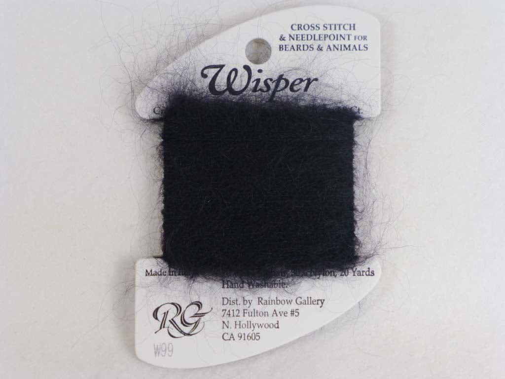 Wisper W99 Black by Rainbow Gallery From Beehive Needle Arts
