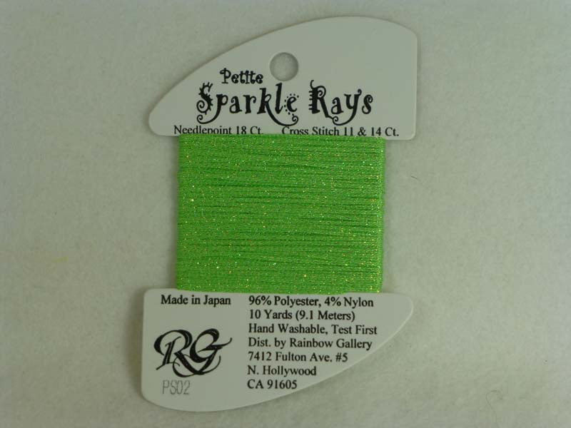 Petite Sparkle Rays PS02 Lime