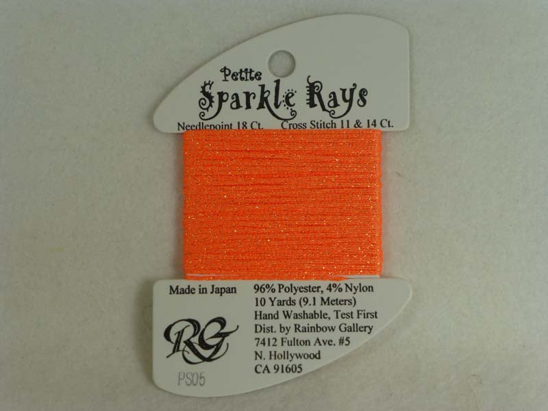 Petite Sparkle Rays PS05 Orange
