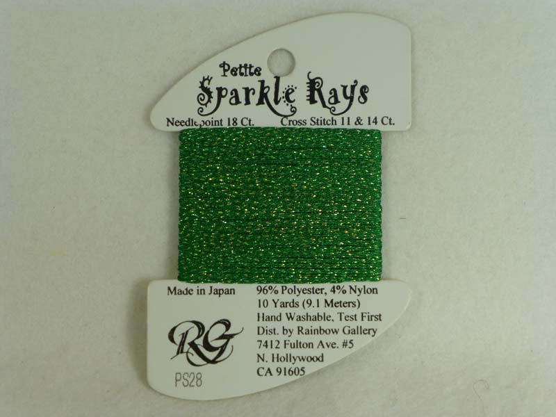 Petite Sparkle Rays PS28 Christmas Green