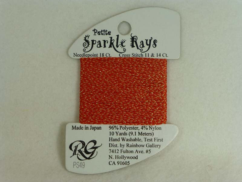 Petite Sparkle Rays PS49 Lite Christmas Red