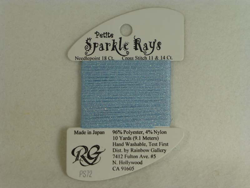 Petite Sparkle Rays PS72 Lite Colonial Blue