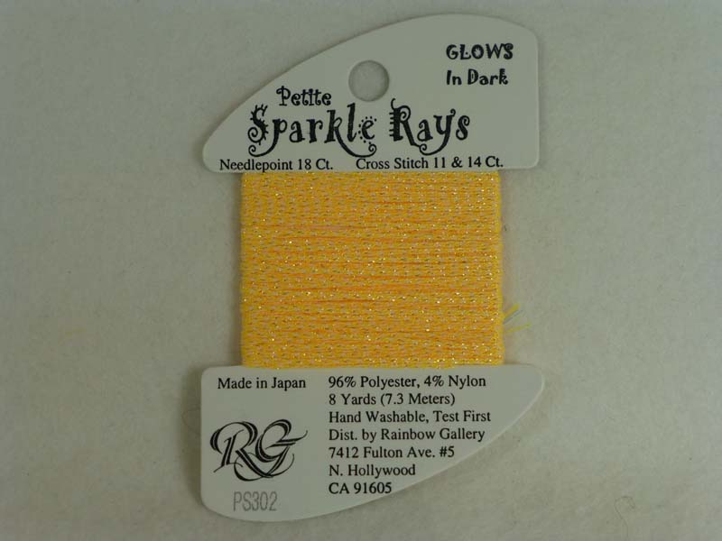 Petite Sparkle Rays PS302 Yelow Glow in the Dark